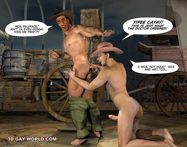 Gay cowboy wild west sex stories